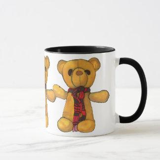 Scarf Teddy Mug 2