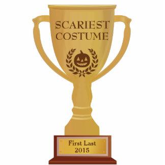 Scariest Costume Trophy Photo Sculpture