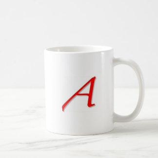 Scarlet A Design Coffee Mug