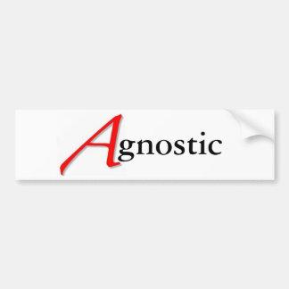 Scarlet A-gnostic Sticker