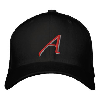 Scarlet A large Embroidered Baseball Cap