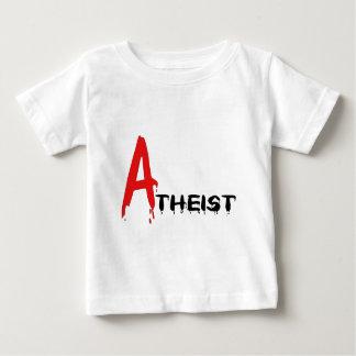 Scarlet Atheist Baby T-Shirt
