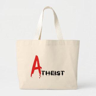 Scarlet Atheist Canvas Bag