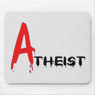 Scarlet Atheist Mouse Pad