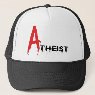 Scarlet Atheist Trucker Hat