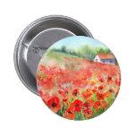 Scarlet Carpet Pinback Button