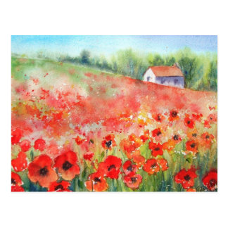 Scarlet Carpet Postcard