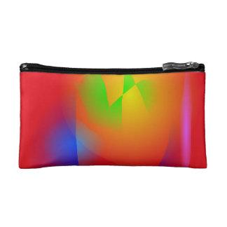 Scarlet Contrast Cosmetic Bag