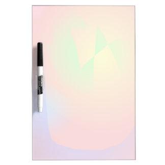Scarlet Contrast Dry Erase Board
