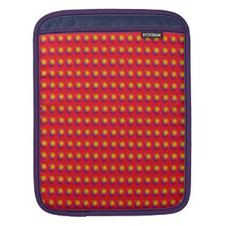 Scarlet Contrast iPad Sleeves