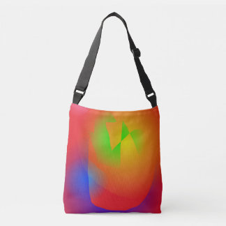 Scarlet Contrast Tote Bag