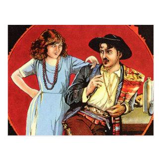 Scarlet Days Movie Poster Postcard