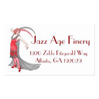 Scarlet Flapper Business Card