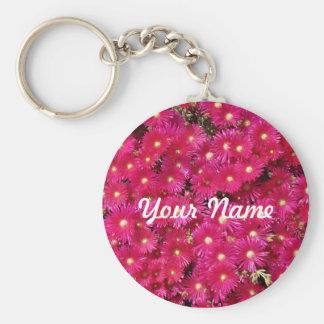 Scarlet Flower Keychain