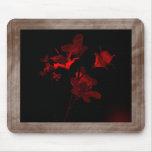 Scarlet Foil Bouquet ~Mouse Pad~