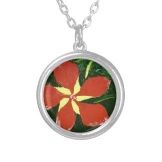 Scarlet Hibiscus Custom Jewelry