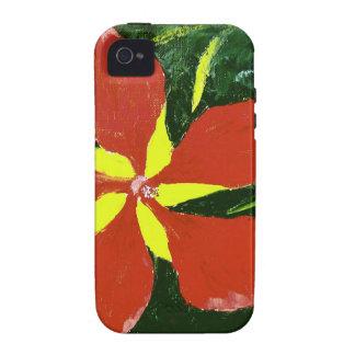 Scarlet Hibiscus iPhone 4 Cases