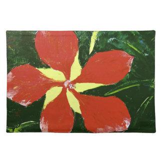 Scarlet Hibiscus Placemat