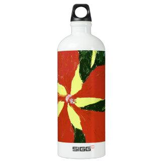 Scarlet Hibiscus SIGG Traveler 1.0L Water Bottle