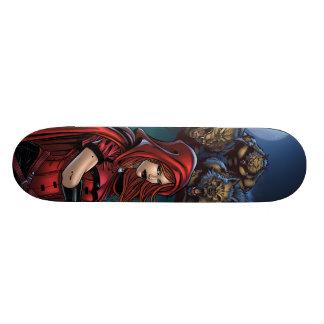 Scarlet Huntress skateboard