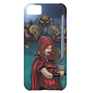 Scarlet Huntress vs. Werewolves iPhone 5C Cases