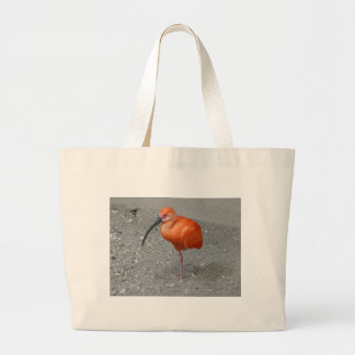 scarlet ibis tote bags