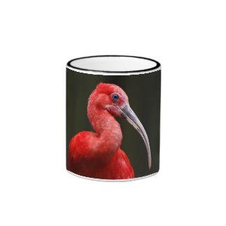 Scarlet Ibis Coffee Mugs