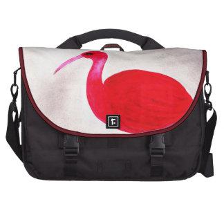 Scarlet Ibis Laptop Commuter Bag