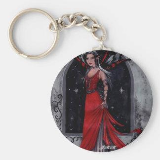 Scarlet Keychain