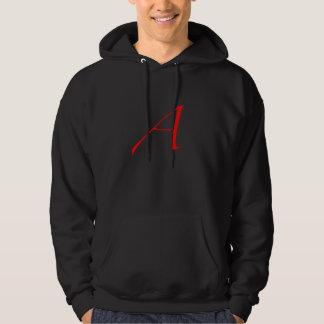 Scarlet Letter A / Atheism Hoodie