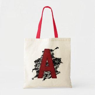 Scarlet Letter A Tote Bag