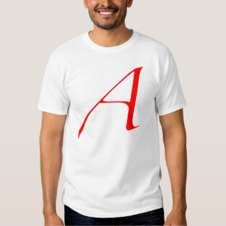 Scarlet letter A (for Atheist) Dresses
