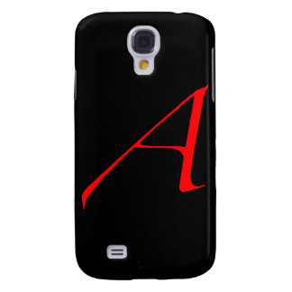 Scarlet letter A (for Atheist) Galaxy S4 Case