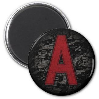 Scarlet Letter A Magnet