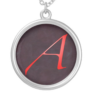 Scarlet Letter Necklaces & Lockets