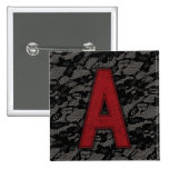 Scarlet Letter A Pin