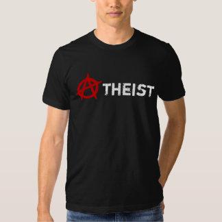 Scarlet Letter Atheist Anarchist Tee Shirt