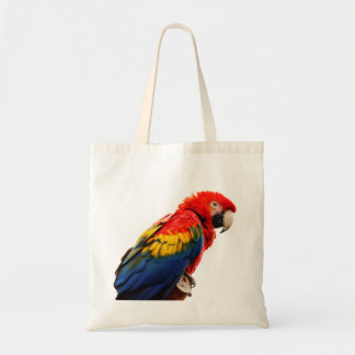 Scarlet Macaw Canvas Bags