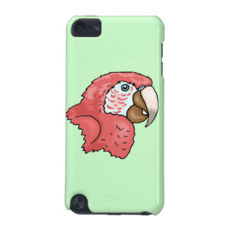 Scarlet Macaw iPod Touch 5G Covers