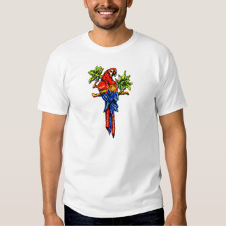Scarlet Macaw Chilling T Shirt