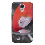 Scarlet Macaw - Close Up Samsung Galaxy S4 Cases