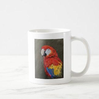 Scarlet Macaw created for you Coffee Mug