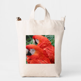 Scarlet Macaw Duck Bag