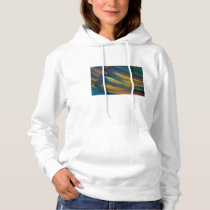 Scarlet Macaw feather close up Hoodie