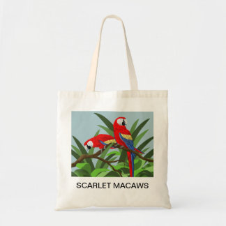 Scarlet Macaw Gifts Tote Bag