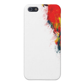 Scarlet Macaw Painted iPhone 5 Cover