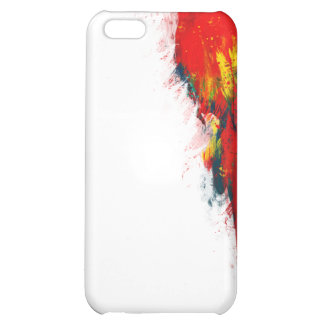 Scarlet Macaw Painted iPhone 5C Case