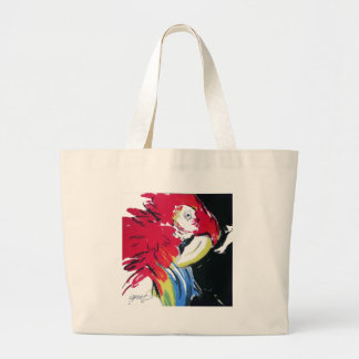 Scarlet Macaw Portrait Tote Bags