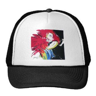 Scarlet Macaw Portrait Trucker Hat