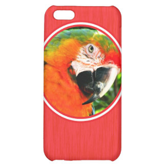 Scarlet Macaw Red iPhone 5C Case